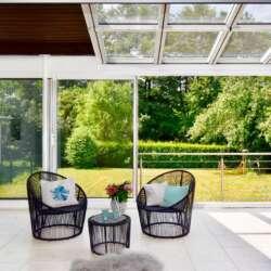 Freistehendes Einfamilienhaus mit großem Wintergarten in Schorndorf – verkauft