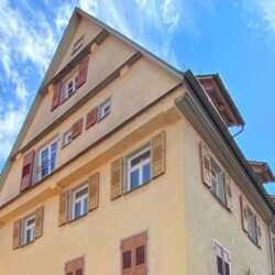 Traumhafte Dachgeschosswohnung im spätmittelalterlichen Fachwerkhaus in Esslingen - vermietet