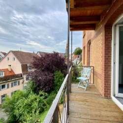 Traumhaft Wohnen mit Blick auf die Esslinger Burg, wunderschöne Wohnung im Esslinger Zentrum – vermietet